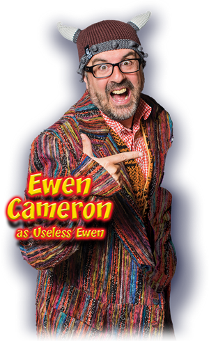 Ewen Cameron as Useless Ewen